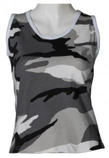 Damen Army Tank top