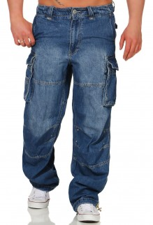 Herren Cargo Safety A denim  long