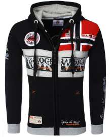 Sweatjacke Geographical Norway Flyer