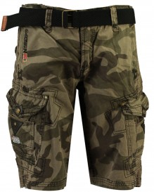 Herrenshorts Geographical Norway Peanut